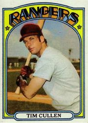 1972 Topps Baseball Cards      461     Tim Cullen